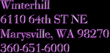 Winterhill Apartments6110 64th St Ne Marysville Wa 98270marysville